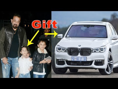 Sanjay Dutt Gifts BMW 7 Series Car to His Kids Wor
