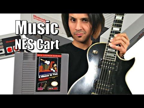 World's First NES MUSIC Cartridge - Full Album, Real Digital Audio & Not 8Bit!! (видео)
