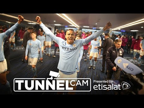 Video: TUNNEL CAM | Manchester City 5-1 Leicester City