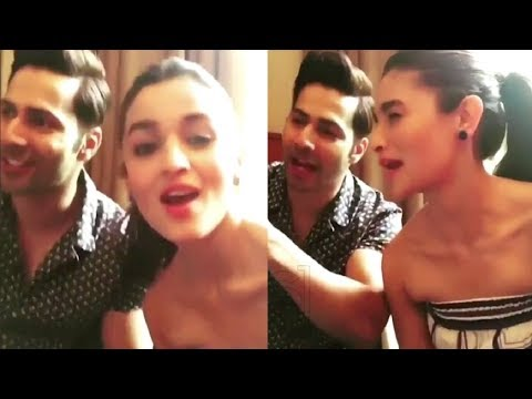 Alia Bhatt And Varun Dhawan CUTE Masti | Throwback Video