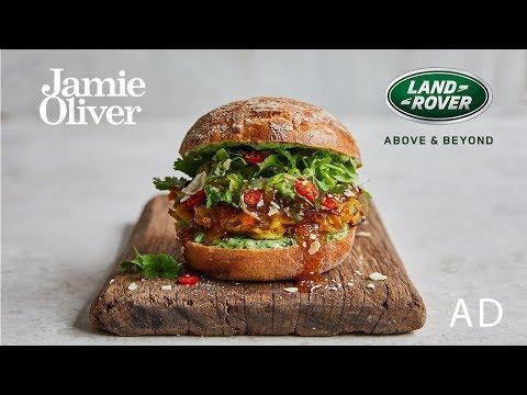 Veggie Bhaji Burger   Jamie Oliver & Range Rover Evoque   AD - Thời lượng: 5:14.