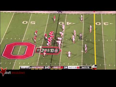 Taylor Decker vs Wisconsin 2013 video.