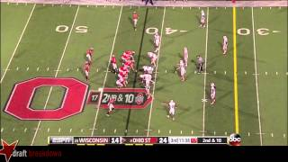 Jack Mewhort vs Wisconsin (2013)