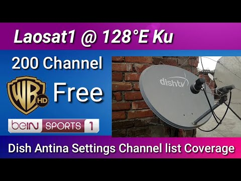 Beinsports 1 HD Free To Air Started - Dish Settings Channel List Coverage 2019