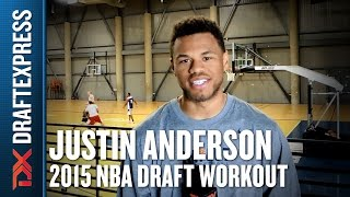 Justin Anderson - 2015 Pre-Draft Workout & Interview - DraftExpress