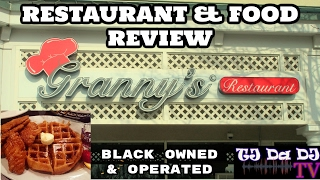 Black Owned Baltimore Restaurant Review: Granny's Restaurant (Owings Mills, MD) Soul Food 