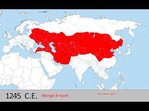History Of The Mongol Empire