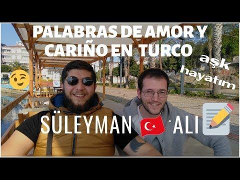 Palabras de AMOR en TURCO /CLASE 4/peruana casada con un turco