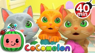 Three Little Kittens | +More Nursery Rhymes & Kids Songs - Cocomelon (ABCkidTV)
