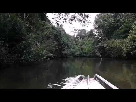 Passeio de barco em Rio Preto da Eva