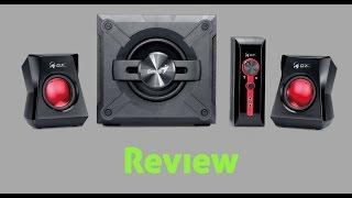 Aqui vai o Review desse Subwoofer 2.1 da Genius, tem um som bem definido, o grave e bom não distorce fácil.