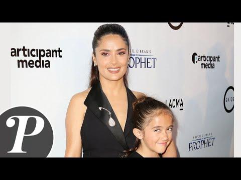 Salma Hayek et sa fille Valentina ensembles pour présenter le film