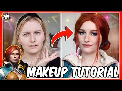 Triss Merigold Makeup Tutorial - The Witcher Cosplay