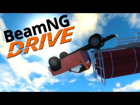Drive - First we had flying cars in BeamNG.Drive, now we have flying trucks ▻Subscribe for more great content : http://bit.ly/11KwHAM Share with your friends and add to your favourites it helps...