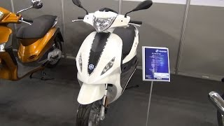2. Piaggio Fly 50 4T 4V Exterior and Interior in 3D 4K UHD