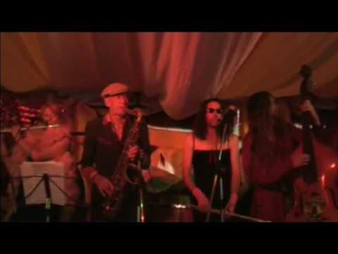 Hawkwinds Nik Turner jamming with Whimwise - Live at Glastonbury  2