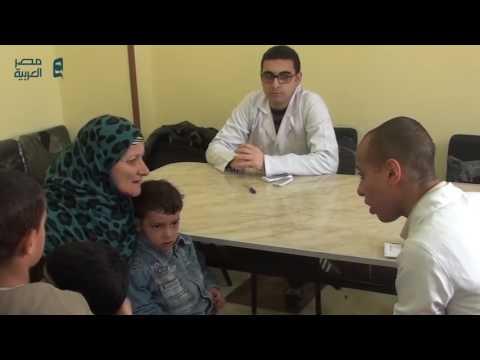 قوافل الشرطة الطبية تجوب قري المنيا لتوقيع الكشف المجاني علي المواطنين