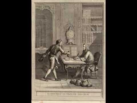 Le Savetier et le Financier Fable de La Fontaine lues par Christophe