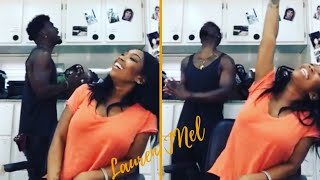 """A Vocal Slay! Singers Brandy And Luke James Sing D'Angelo's """"How Does It Feel"""""""