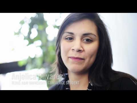 Angelica Olivarez talks about her experience at Texas A&M University-Commerce
