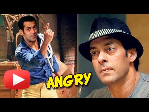 Salman Khan Gets Angry | QUITS A MOVIE