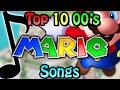 Top 10 2000's Mario Songs
