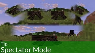 Tip: Spectator Mode in Minecraft 1.8