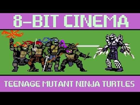 Teenage Mutant Ninja Turtles 8 Bit Cinema