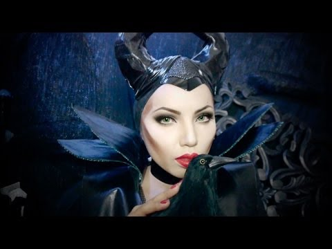 tutorials - Angelina Jolie makes the perfect Maleficent...Those striking green eyes and fiery Red lips ! I can see why so many of you requested a tutorial for this look....