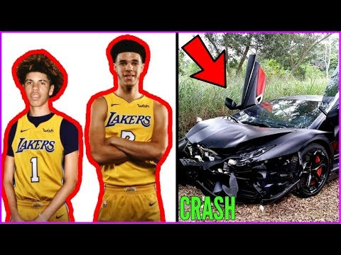 How LaMelo Ball just RUINED HIS LIFE AND CAREER!! LaMelo crashes LAMBO!! (видео)