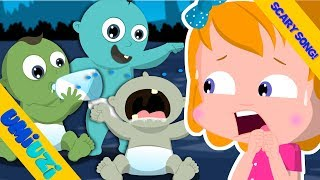Video Three Zombie Babies   One Two Three   Happy Halloween scary songs for Children MP3, 3GP, MP4, WEBM, AVI, FLV Desember 2018