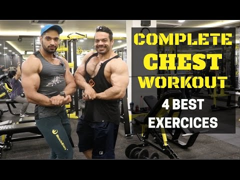 PERFECT CHEST WORKOUT Ft RSR | TOP 4 EXERCISES FOR BIG CHEST