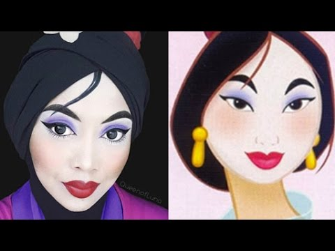 How This Woman Uses Her Hijab Will Blow Your Mind! See Her Transformations Into Gorgeous Disney Characters (VIDEO)