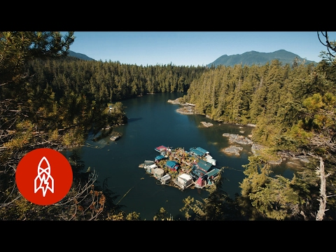 Living Off The Grid On A Homemade Island