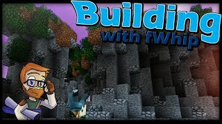Building with fWhip :: Custom Cliffs and Water fall #76 Minecraft 1.12 Single Player Survival