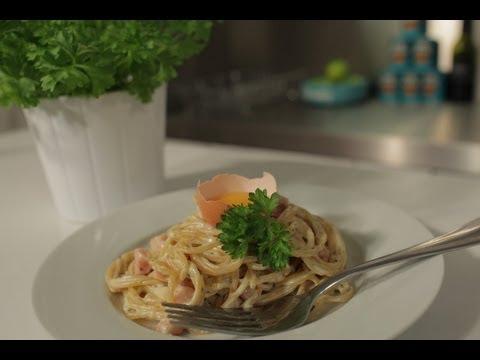 Video: Easy Quick Recipe for Spaghetti Carbonara