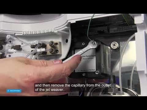 Hướng dẫn thay bộ trộn dung môi (Jet Weaver) cho hệ 2 pump G4220x của máy Agilent 1290