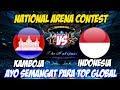 LIVE ARENA KONTES !! SEMANGAT GAESSS - INDONESIA VS KAMBOJA | Mobile Legends 21 Maret 2018