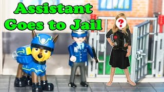 PAW PATROL Nickelodeon Secret Agent Assistant Goes to Jail a P...