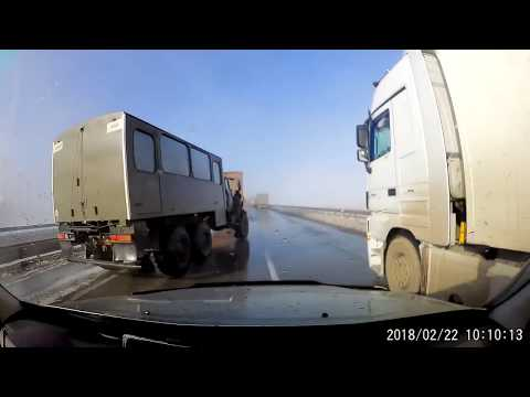 Авария в Казахстане