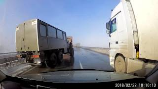 Mistrz driftu Uralem oszukuje przeznaczenie!