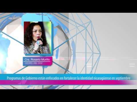 Programas de Gobierno están enfocados en fortalecer la identidad nicaragüense en septiembre