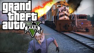 Video TREN SOYGUNU!! - GTA 5 Online PC MP3, 3GP, MP4, WEBM, AVI, FLV Desember 2017