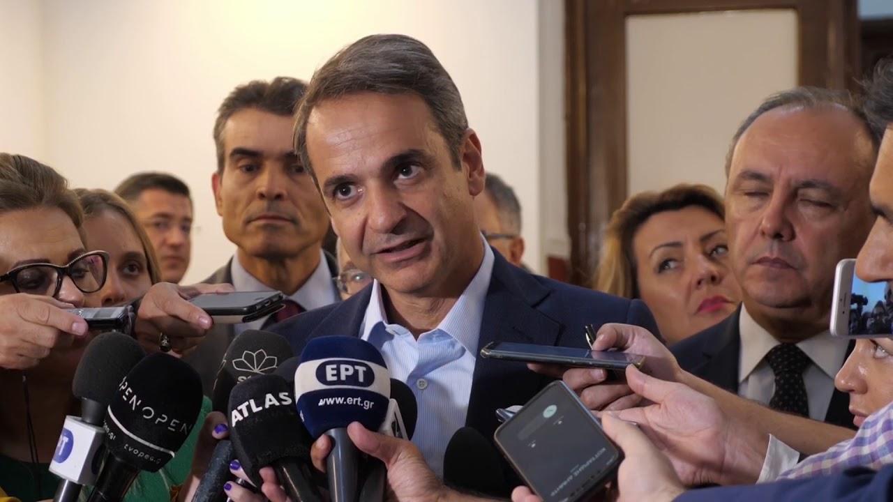 Δήλωση του Πρωθυπουργού Κυριάκου Μητσοτάκη στη Θεσσαλονίκη