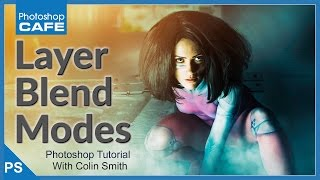 Photoshop Layer BLEND MODES made easy
