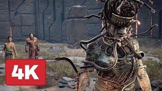 Video Taking Down Medusa in Brand New Assassin's Creed: Odyssey Gameplay (4K) MP3, 3GP, MP4, WEBM, AVI, FLV Oktober 2018