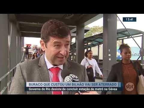 Kinoplex - Governo decide aterrar obras da Estação Gávea do Metrô