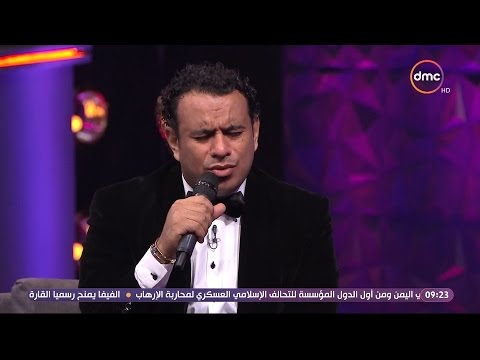 شاهد- محمود الليثي يقدم ابتهالا للشيخ النقشبندي