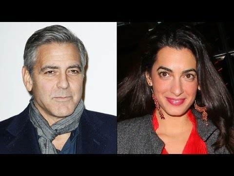 Is George Clooney engaged to Amal Alamuddin?