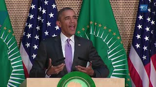 Obama Speaks To African Union- Full Speech